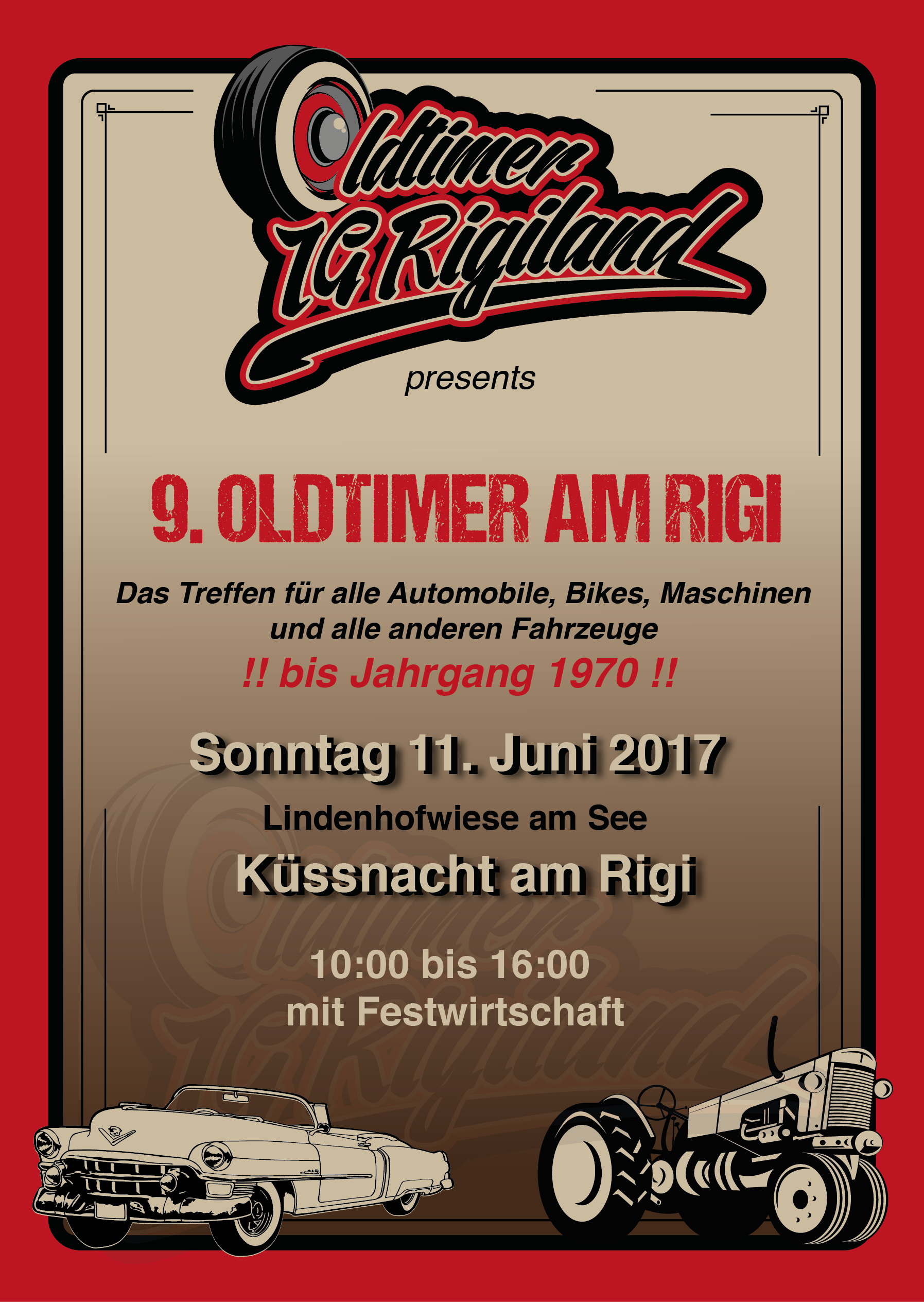 9. Oldtimer am Rigi 2017
