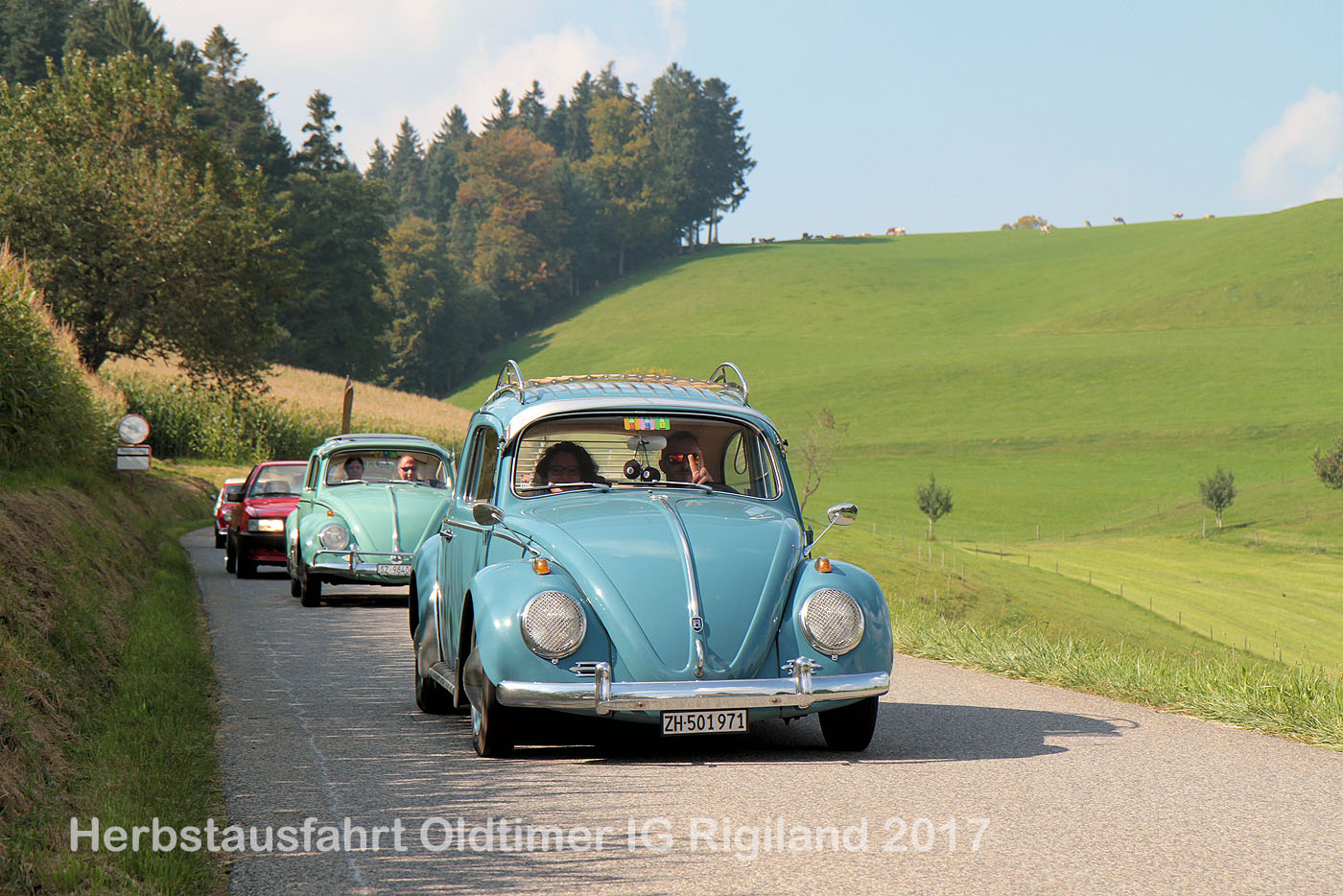 Herbstausfahrt der Oldtimer IG Rigiland 2017