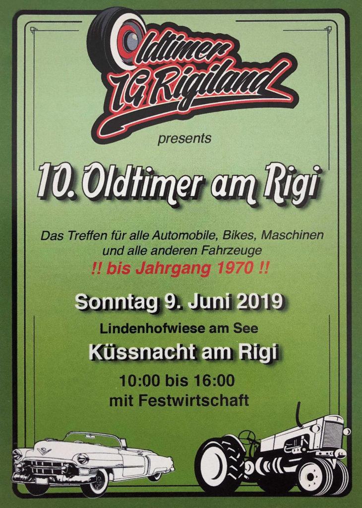 10. Oldtimer am Rigi vom 9. Juni 2019
